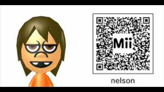Simpson miis for your 3DS
