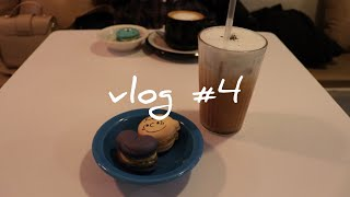 【vlog #4】韓国 ソウル 望遠市場・ZAPANGI・Cafe Atmosphere・LAUNDRY PIZZA