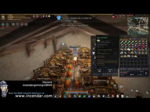 Easier Cooking Time Reduction Food! Teff Bread! Black Desert Online BDO 1080p