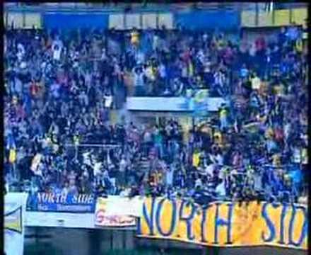 Alegría del Chievo por retornar a la Serie A