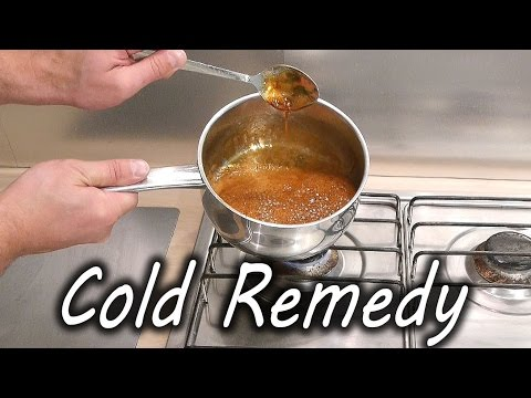 Home Made Cold and Flu Remedy at home