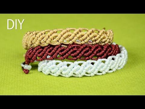 realizzazione di un braccialetto in macramè