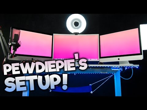 GETTING PEWDIEPIE'S STUDIO SETUP!!