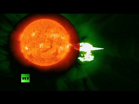 solar - NASA released computer-generated video on Monday of the sun emitting a mid-level solar flare. The image of the flare, which erupted on the left side of the sun on August 24, was recorded by...
