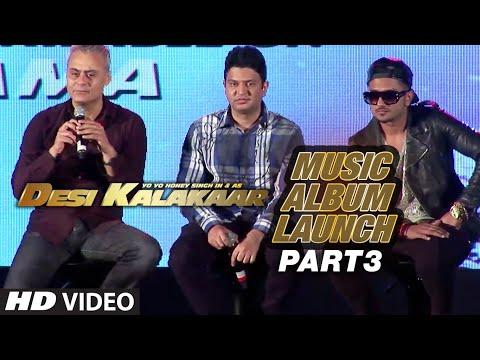 Desi Kalakaar Music Album Launch - Part - 3 | Yo Yo Honey Singh | Honey Singh New Songs 2014 01 September 2014 03 PM