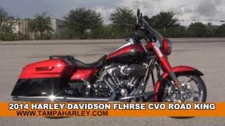 5. New 2014 Harley Davidson FLHRSE CVO Road King Motorcycles for sale