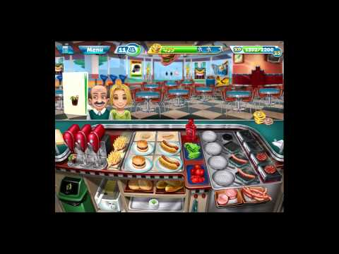 Cooking Fever [iPad Gameplay] Level 35
