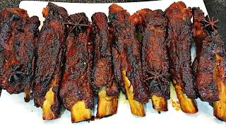 Delicious honey glazed ribs recipe that is packed with flavor and comes out sticky (sticky pork ribs). It is a slow oven baked ribs / roasted ribs recipe.This recipe ...