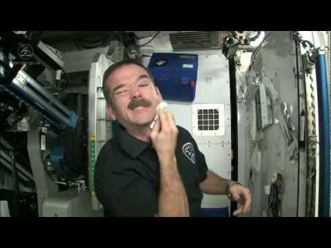 Astronaut Chris Hadfield on How Astronauts Shave in