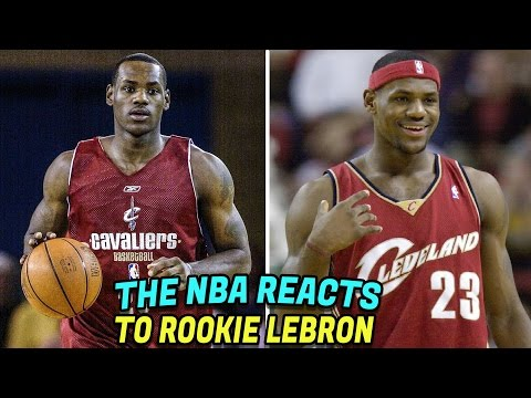 (HILARIOUS) What NBA Players Thought of LeBron James Before He Was Drafted First Overall in 2003