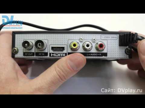 D-Color 1501HD - обзор DVB-T2 ресивера