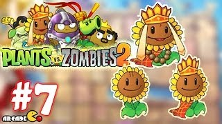 Plants Vs Zombies 2: Journey To The West - (Healing Hero) PVZ Walkthrough Part 7