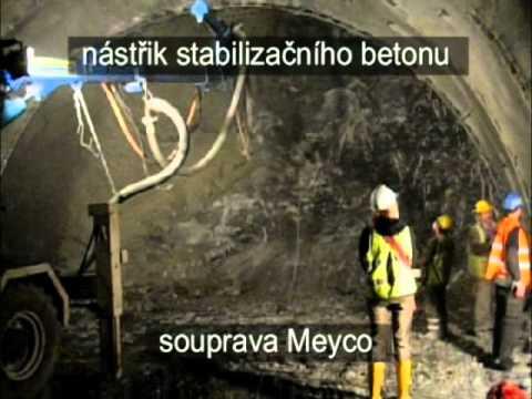Výstavba tunelu