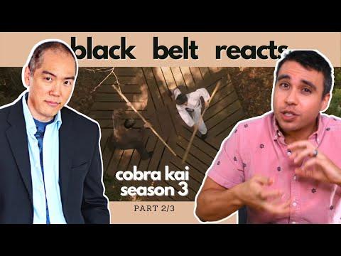 Black Belt Reacts to Yuji Okumoto   CHOZEN VS DANIEL   Cobra Kai Season 3 Fight Reaction Part 2/3