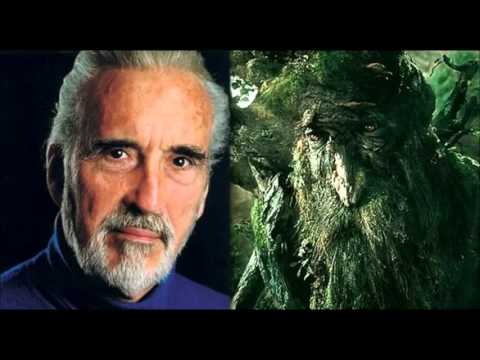 Treebeard's Song by Christopher Lee