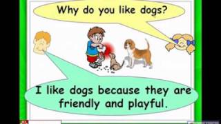 Pets, dogs, cat, hamster, parrot, English for Kids