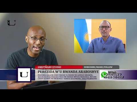 Perezida w'u #Rwanda ni Imbohe - Ntimugatangazwe na Bimwe mu Bikorwa mw'Izina rye