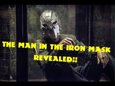 The Flash: The Man In The Iron Mask Revealed!!!