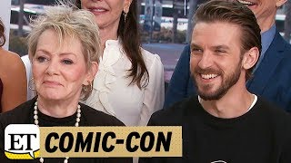 More from Entertainment Tonight: http://bit.ly/1xTQtvw  ET spoke to the Dan Stevens and the cast of 'Legion' at Comic-Con about potentially casting a Professor X.