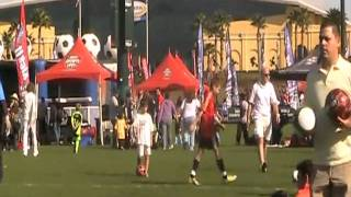first half of the 2nd game at the Kick it World Championships 2011. Milan won 9-1.