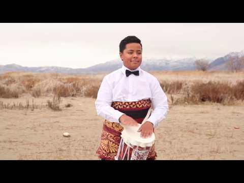 Little Drummer Boy - Peace On Earth Ft Junior And Leka Maile | MattNickleMusic