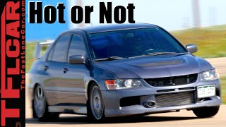 Mitsubishi Evo MR: Road, Track & 0-60 MPH Review - TFL Leaderboard Hot or Not Ep.12 by The Fast Lane Car