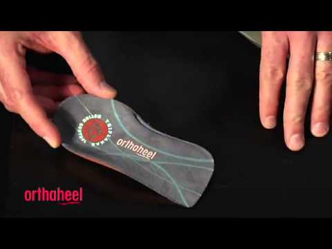 Orthaheel Relief 3/4 Orthotic Insoles Review @ TheInsoleStore.com