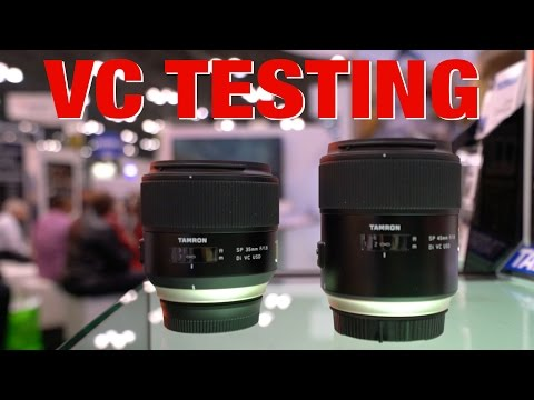 Tamron 35mm and 45mm Primes - First look & VC Test