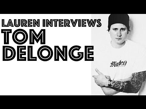 delonge - Lauren Toyota of MuchMusic interviews Tom Delonge of Angels & Airwaves, mostly about aliens and conspiracy theories.