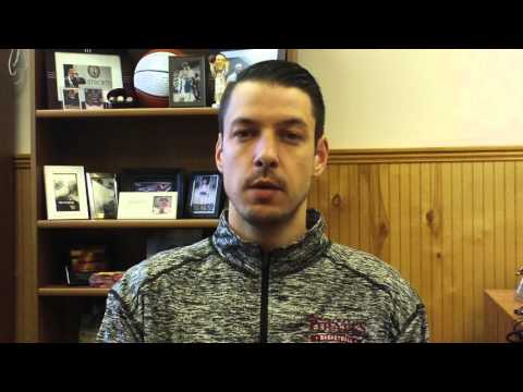 Matt Logie Men's Basketball Feb. 15, 2016