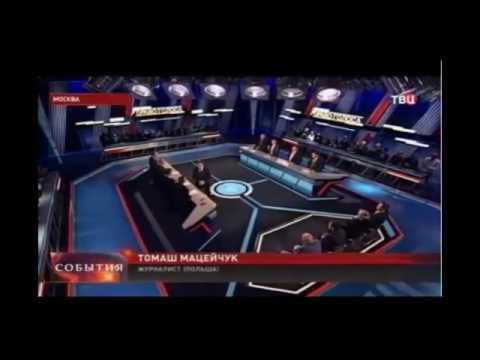 ВИДЕО  Ведущий ток шоу ТВЦ Роман Бабаян спровоцировал драку (видео)
