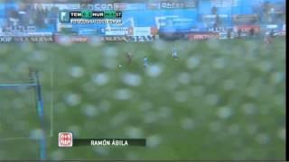 Gol De Ábila. Temperley 0 - Huracán 2. Fecha 12. B Nacional. Fútbol Para Todos