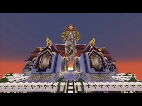 1500名玩家花費5年打造Minecraft虛擬城市,當我看到比真實世界還壯觀建築後就忍不住跪在電腦前了…
