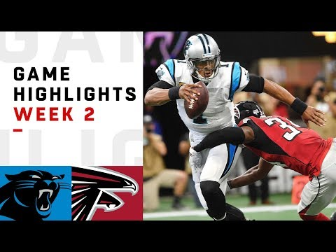 Panthers vs. Falcons Week 2 Highlights | NFL 2018 (видео)