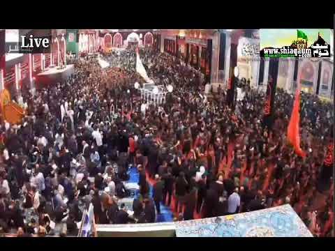 Live | Karbala Ziarat | Shrine ( Roza ) E Imam Hussain A.S - LiveShiaqaum.com