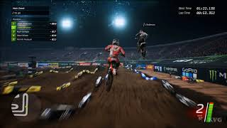 Monster Energy Supercross - Las Vegas (Sam Boyd Stadium) - Gameplay (PC HD) [1080p60FPS]
