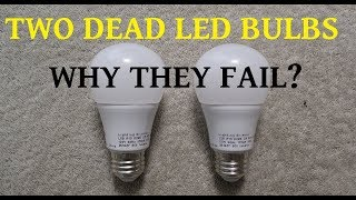 Video Two failed LED bulbs for teardown to determine the cause MP3, 3GP, MP4, WEBM, AVI, FLV Juli 2018