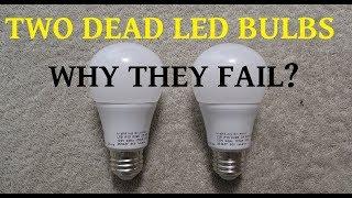 Video Two failed LED bulbs for teardown to determine the cause MP3, 3GP, MP4, WEBM, AVI, FLV Agustus 2018
