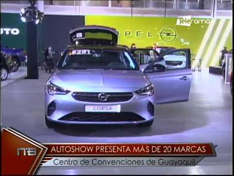 Autoshow presenta más de 20 marcas centro de convenciones de Guayaquil