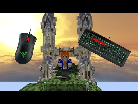 Minecraft : Sky Wars Challenge [No Scroll Mouse & No Keyboard Keycaps]