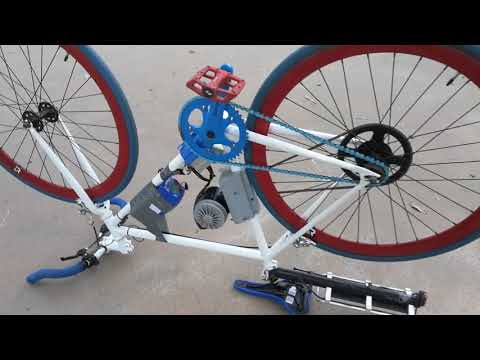 3D Printed Electric Bike Solution