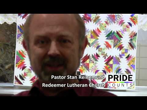 Pride Counts to Pastor Stan Reinemund