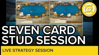 Seven Card Stud (Hi, Hi/Lo And Razz) Strategy With Gripsed