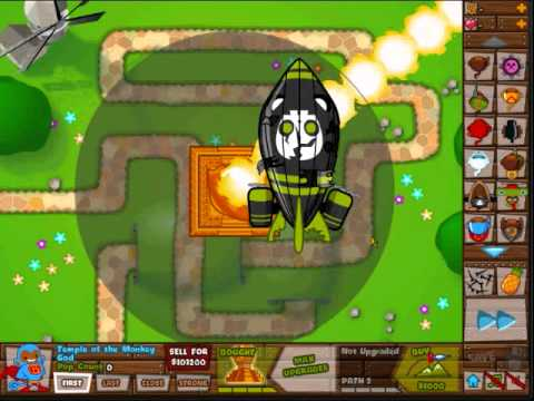Bloons Tower Defense 5- Apparently God isn't all-powerful