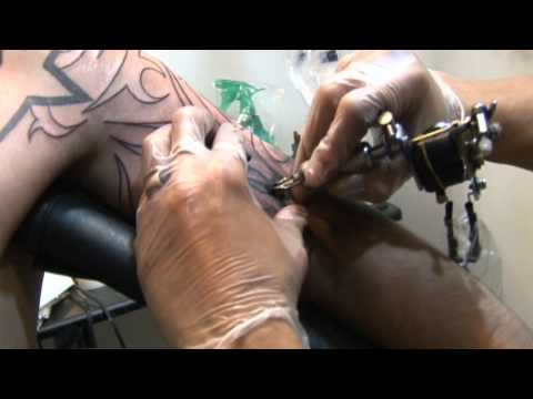 Tattoo Sessions: HUGE Black Custom Drawn Tribal Arm/Shoulder Tattoo!!!