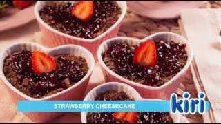 Kiri Strawberry Cheesecake Recipe 1 of 13 Videos