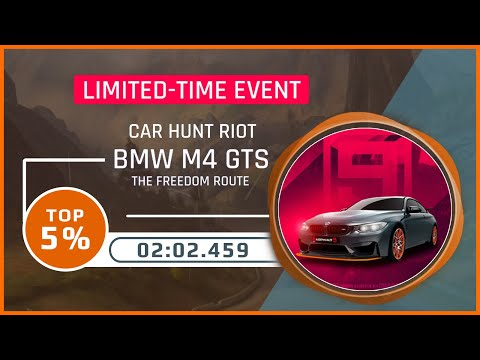 Asphalt 9 [Touchdrive] | CAR HUNT RIOT | BMW M4 GTS | Top 5% | 02.02.459 | The Freedom Route