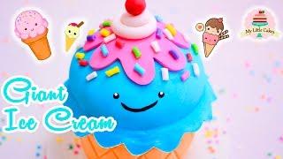 GIANT KAWAII ICE CREAM CAKE | MY LITTLE CAKES