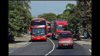 Video Gerombolan Bus Yang Telat Berangkat Dan Berani Nyalip | Lingkar Boyolali MP3, 3GP, MP4, WEBM, AVI, FLV Juli 2018