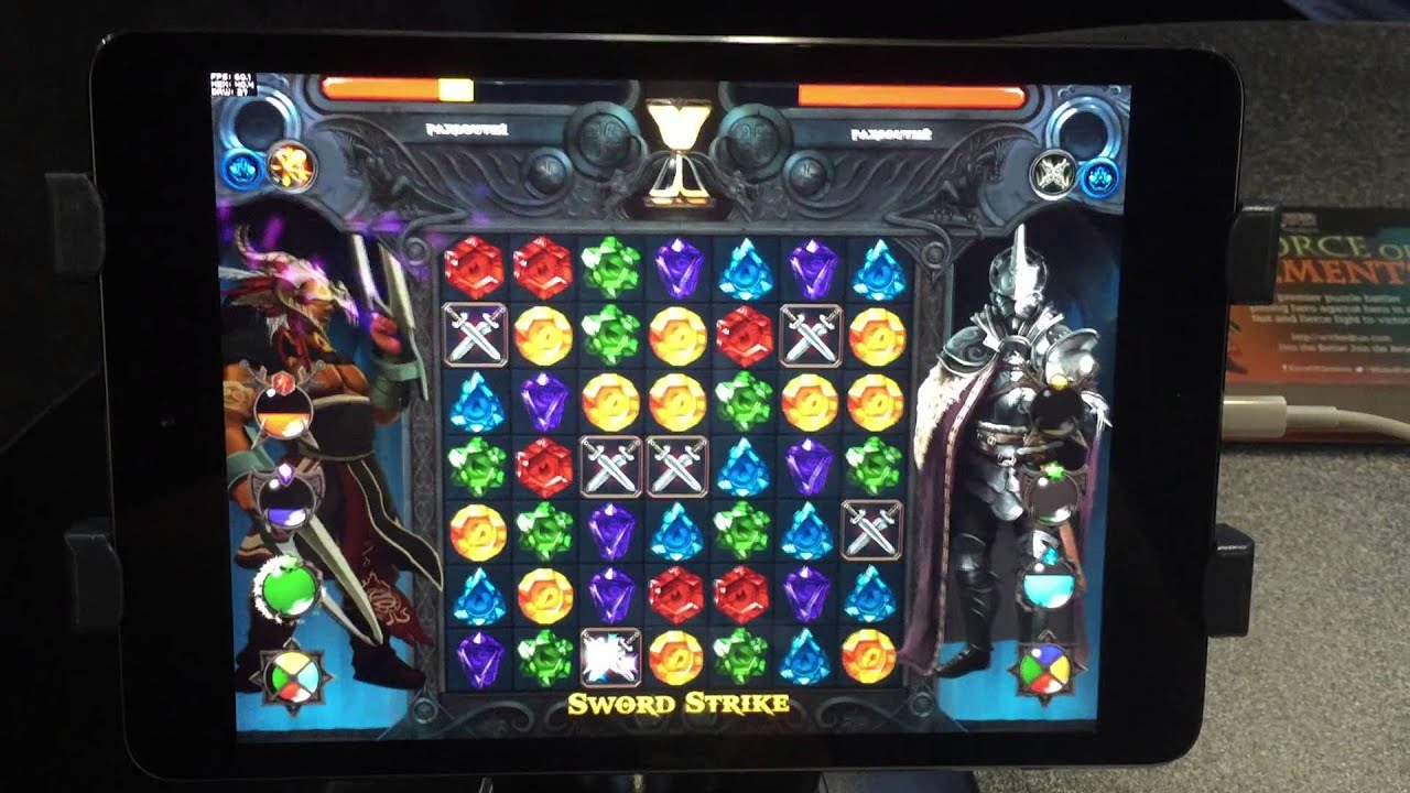 PAX South: 'Force of Elements', an Online Multiplayer Match-3 Puzzler